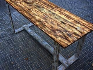 Mesas estilo industrial:  de estilo industrial de Industrial Art Barcelona, Industrial