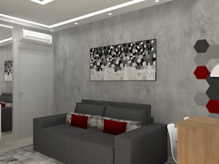 Modern living room by Bruna Ferraresi Modern