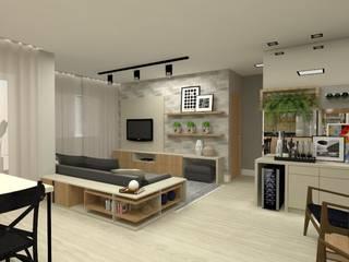 Apartamento Bruna Ferraresi Eletrônicos MDF Preto