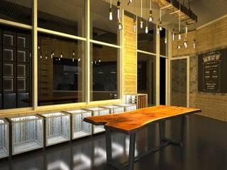 Espaços gastronômicos  por Artglam - construção