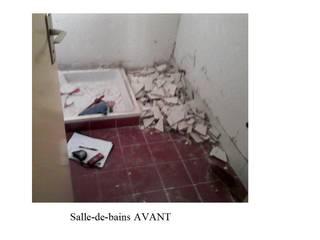 Rénovation d'une salle-de-bains. par Lucile Tréguer, décoratrice d'intérieur