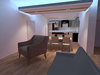 Ruang Keluarga Modern Oleh PE. Projectos de Engenharia, LDa Modern