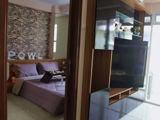 Gateway Pasteur - Tipe 2 Bedroom Jade Koridor & Tangga Modern Oleh POWL Studio Modern