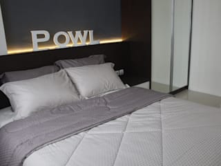 Modern style bedroom by POWL Studio Modern
