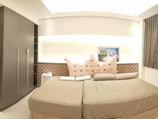 頂尖室內設計工程行 Dormitorios minimalistas