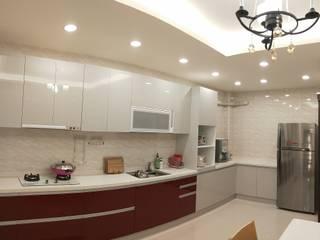 頂尖室內設計工程行 Cucina minimalista