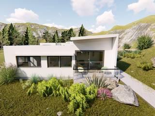 Ekeko Arquitectura Müstakil ev Beyaz