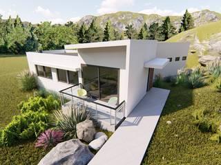Ekeko Arquitectura Kütük ev Beyaz
