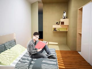 Estudio Raya Modern style bedroom