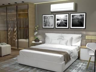 Interior: Quartos  por Studiopar Arquitetura