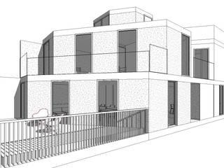 casa TECAMAC de Designo Arquitectos Minimalista
