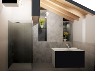 Bathroom by ARCH. CRISTINA MASCHIO