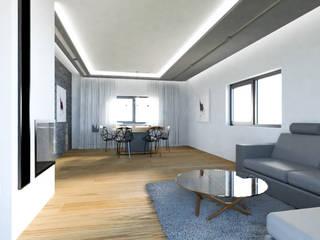 Modern Living Room by MURO architekci Sp z o.o. Modern