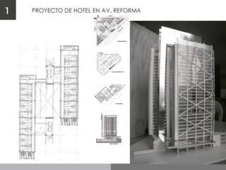 Hotel Reforma e Insurgentes de Designo Arquitectos