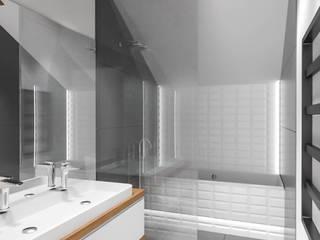 Scandinavian style bathroom by MURO architekci Sp z o.o. Scandinavian