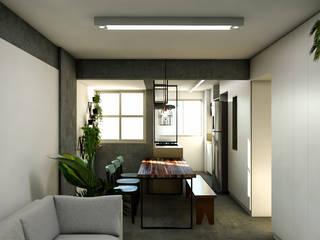 Dining room by 285 arquitetura e urbanismo, Modern