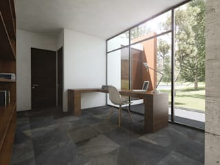Modern Study Room and Home Office by Novhus Oficina de Arquitectura Modern