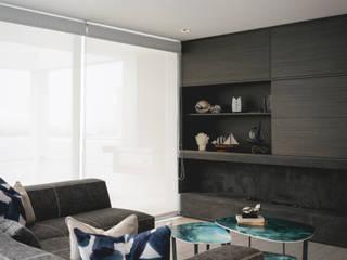 Casa de Playa:  de estilo  por Cecilia Fernandini Estudio