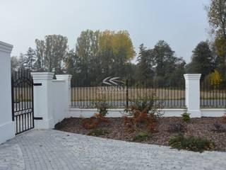 Ogród glamour od Studio B architektura krajobrazu Bogumiła Bulga