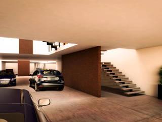 WERHAUS ARQUITECTOS Garajes de estilo moderno