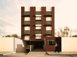 Modern Houses by WERHAUS ARQUITECTOS Modern