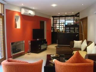 Casa LF Livings modernos: Ideas, imágenes y decoración de Módulo 3 arquitectura Moderno
