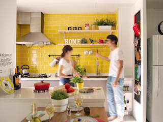 Scandinavian style kitchen by 一葉藍朵設計家飾所 A Lentil Design Scandinavian