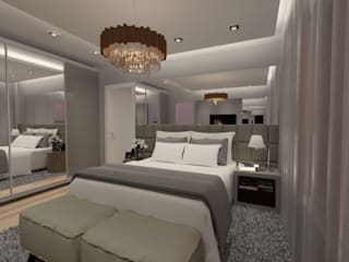Classic style bedroom by Cláudia Legonde Classic