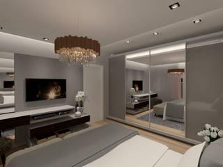 Cláudia Legonde Classic style bedroom MDF White