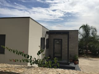 Casas de campo de estilo  por KITUR,