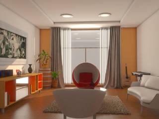 Moderne Wohnzimmer von Plano 13 Modern