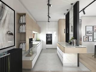Cuisine moderne par Kadoka Architekci Moderne