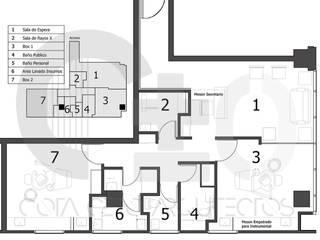 Plano:  de estilo  por Cota Cero Arquitectos