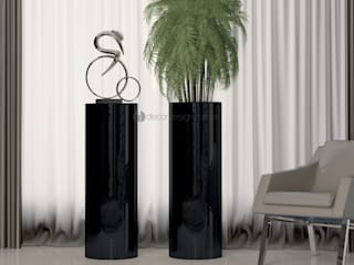 Floreira Black:   por Moveis AMS / Decordesign