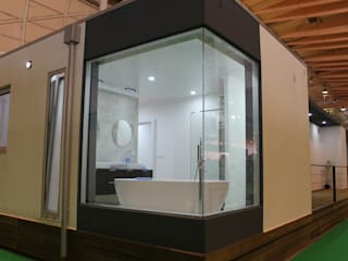 Casa Kitur - Modular Fixa: Casas unifamilares  por KITUR,Minimalista