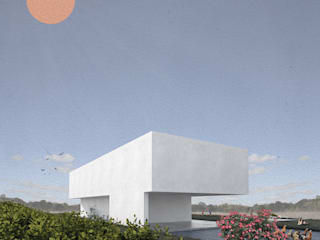 CASA DOS CAMPOS: Casas  por COMO Arquitectura,Minimalista