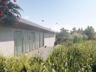 CASA DAS PEDRAS: Casas  por COMO Arquitectura,Rústico