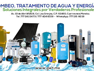 Global Water Tech: Estudios y oficinas de estilo  por Global Water Tech,