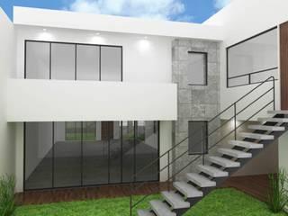 Casa Ceibas : Casas de estilo  por Spazzio