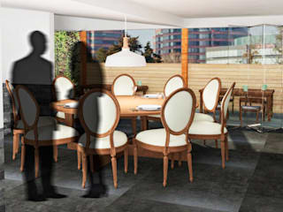 Estudio Raya Ruang Makan Modern