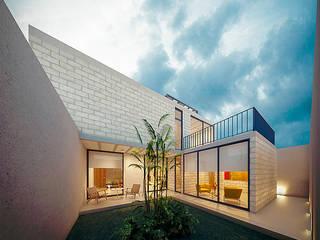 Casa SR: Casas de estilo  por COUTIÑO & PONCE ARQUITECTOS