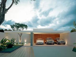 Casa OS: Casas de estilo  por COUTIÑO & PONCE ARQUITECTOS