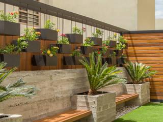 Área Exterior CAF Jardines minimalistas de S2 Arquitectos Minimalista