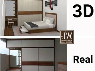 Modern style bedroom by JW Decoration Modern