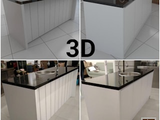 Ibu Meliantha , Citra Garden 2 Ext - Jakarta Barat JW Decoration KitchenCabinets & shelves Granit White