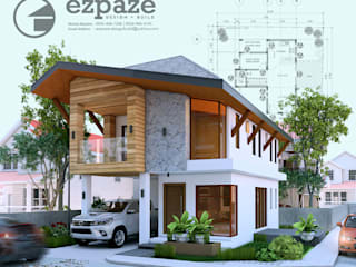 Maison individuelle de style  par ezpaze design+build, Tropical