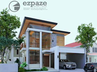Maison individuelle de style  par ezpaze design+build, Asiatique