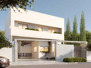 CASA JULI - BARRIO LOS ÁLAMOS - RÍO NEGRO Casas modernas: Ideas, imágenes y decoración de Arq. Vieyra Moderno