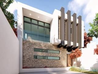 Rumah pasif oleh Taller NR Arquitectura, Modern