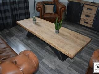 table basse vintage bridge:  de style  par Bg meubles